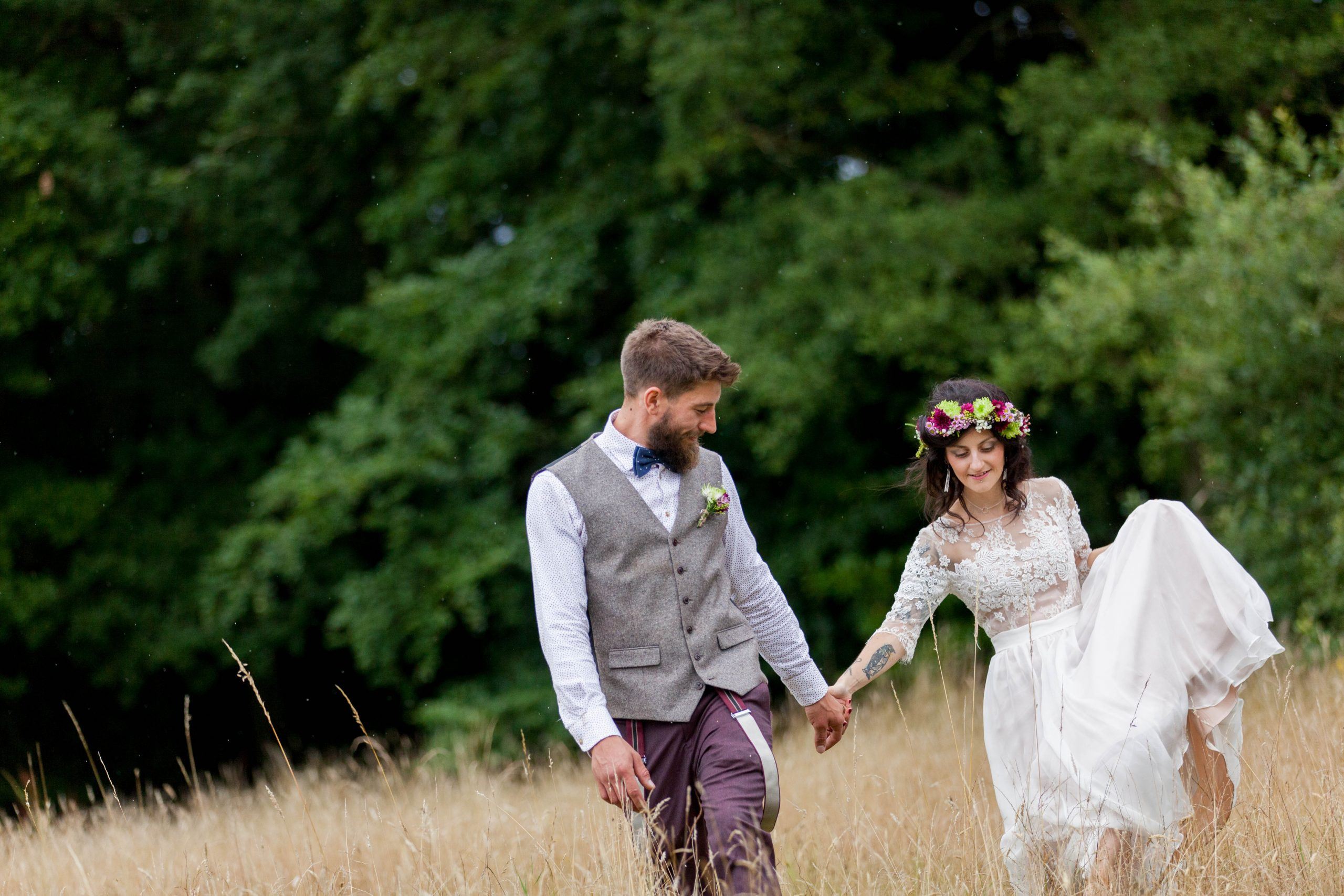 woodland wedding real wedding feature