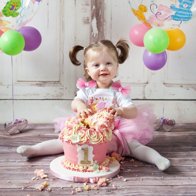 Cake Smash - Birthday Shoot sample image